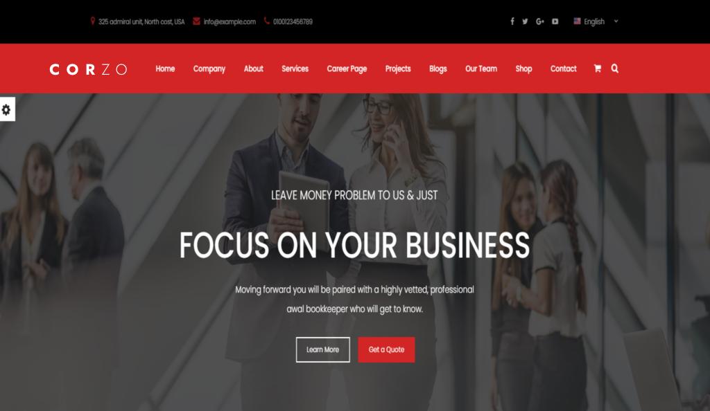 Corzo   Consulting Finance-Multipurpose Premium HTML5 Website Template