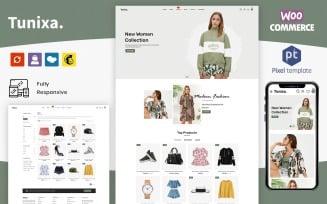 Tunixa - Minimalistic WooCommarce Fashion Store