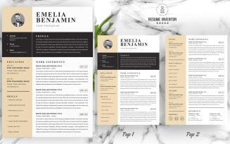 Emelia / Modern Resume Template