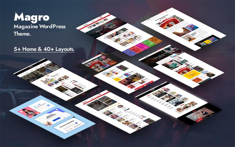 Magro - News Magazine And Blog WordPress Theme