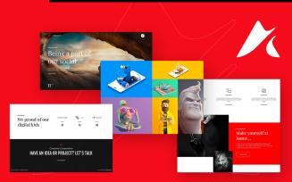 Anchor | Freelancer & Creative Agency Portfolio WordPress Theme