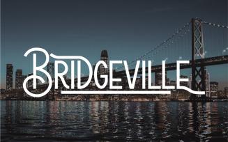 Bridgeville Classic Display Font