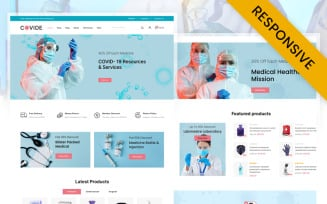 COVIDE Medical Healthcare Store WooCommerce Responsive Theme