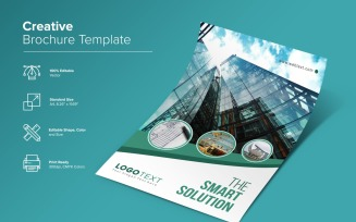 Real Estate Brochure Design Template