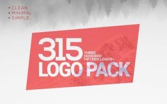 315 Corporate & Minimal Logos Mega Bundle Pack