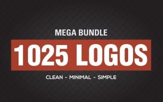 1025 Mega Premium Logos Bundle
