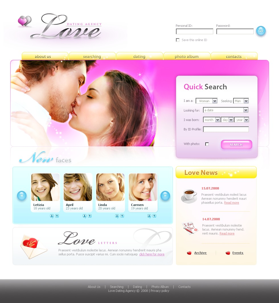 magento dating website