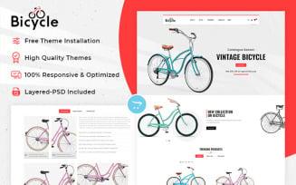 Bicycle - Multipurpose Responsive OpenCart Theme