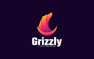 Grizzly Gradient Logo Template's
