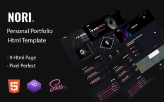 Nori - Personal Portfolio Html5 Template