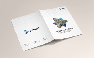 Company Brochure Design Template