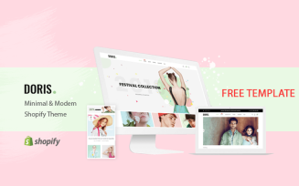 Doris - FREE Responsive Shopify Template