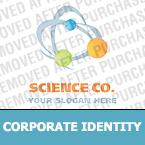Science Corporate Identity Template 20409