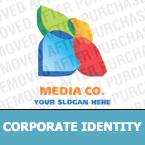 Media Corporate Identity Template 20454