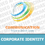 Communications Corporate Identity Template 20458