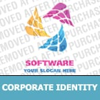Software Corporate Identity Template 20459