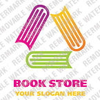 Books Logo  Template 20468
