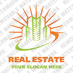 Real Estate Logo  Template 20476