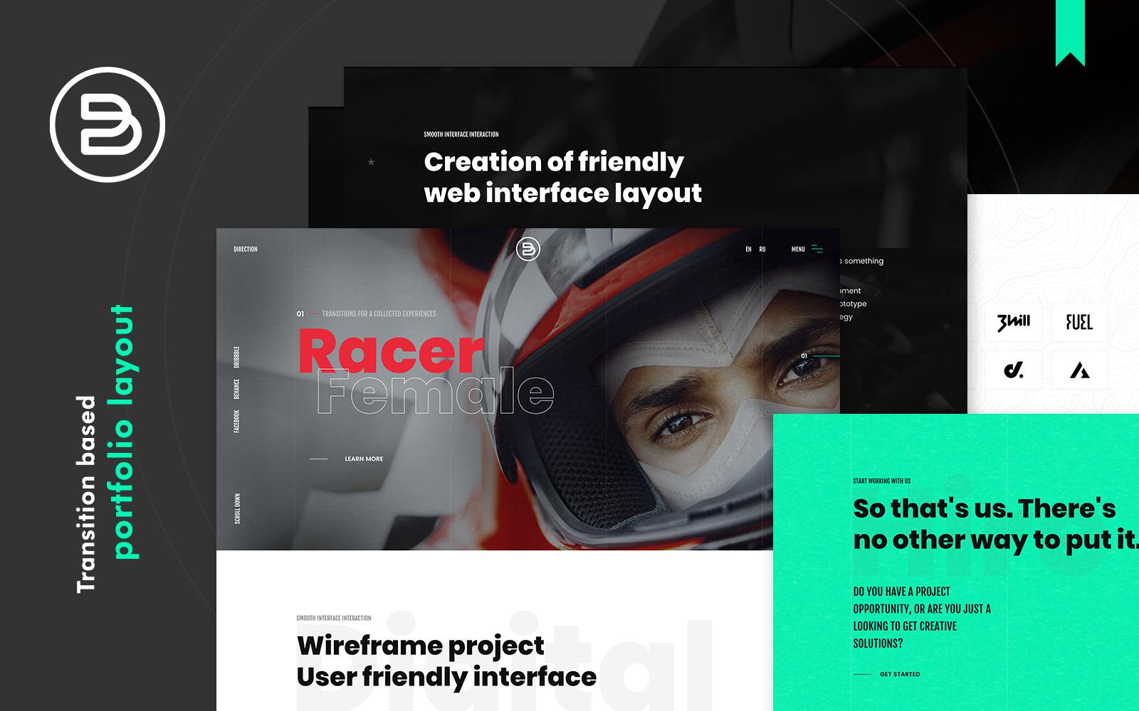 Brabus | Contemporary Portfolio WordPress Theme for Agencies