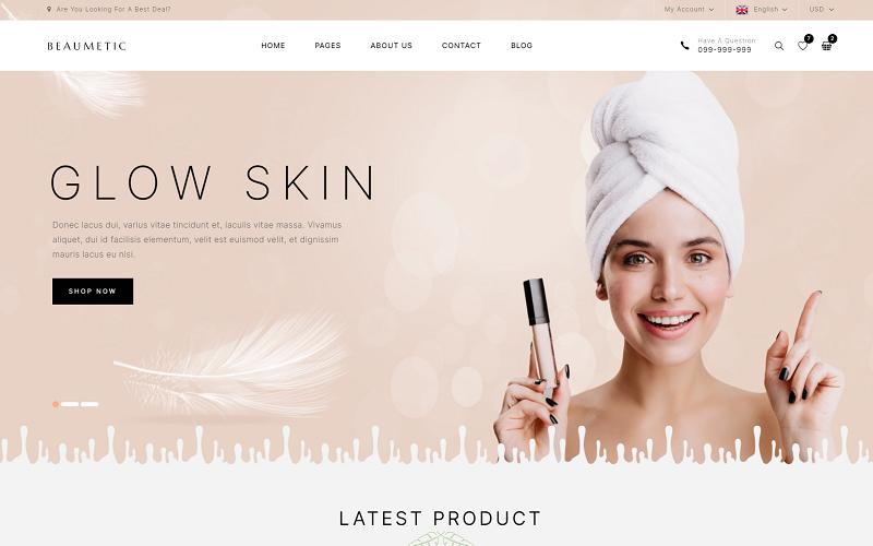 Beaumetic - Cosmetic WooCommerce WordPress Theme