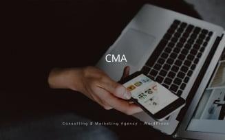 CMA - Consulting & Marketing Agency WordPress Theme