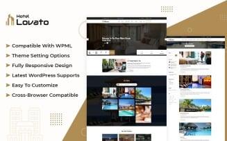 Hotel Lovato - Hotel Resort Booking WordPress Theme