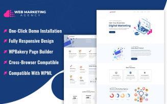 Web Marketing Agency WordPress Theme