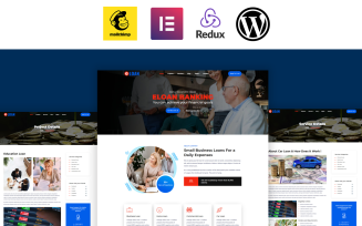 Eloan - Banking, Loan and Insurance Elementor WordPress Theme