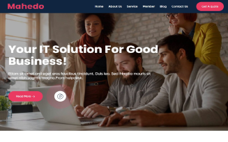 Maheda Creative Agency WordPress Theme