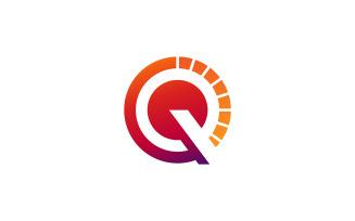 Q Letter Logo Design Vector Template