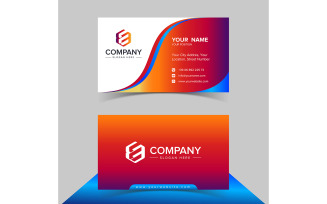 Business Card Logo Design Vector Template