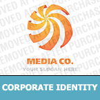 Media Corporate Identity Template 20705