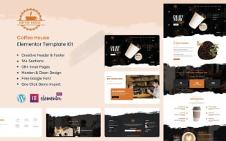 Coffee House - Cafe & Coffee Shop Ready to Use Elementor Kit