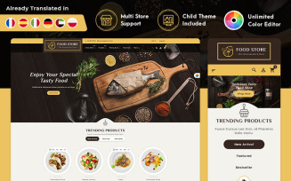Royal Restaurant Food PrestaShop Responsive Theme
