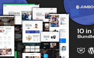Jumboo Multipurpose Responsive Landing Pages WordPress Theme Bundle