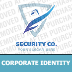 Security Corporate Identity Template 20808