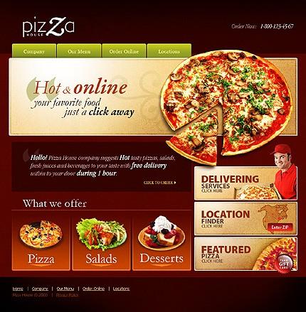 Creare site pizzerie