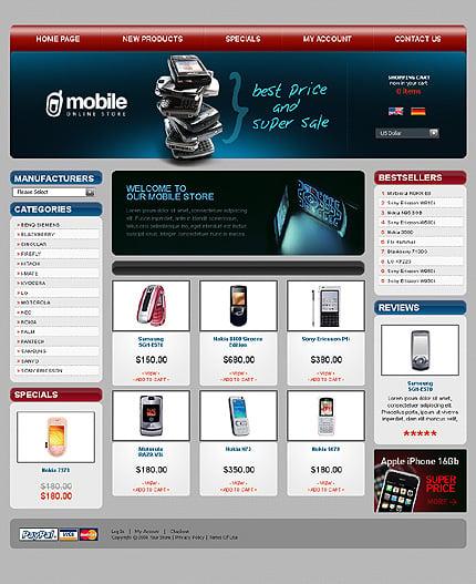 Шаблон интернет-магазина CRE Loaded (20885)