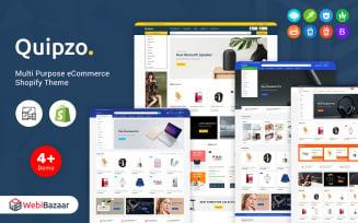 Quipzo - Modern & MultiPurpose Shopify Theme