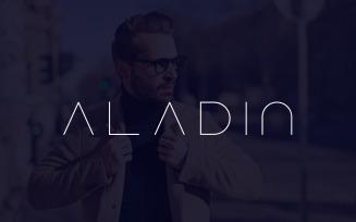 Aladin - Special Minimalist Font
