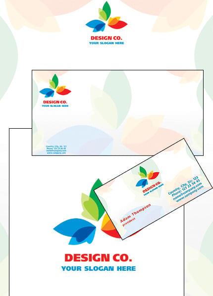 Design Studio Corporate Identity Template Vector Corporate Identity preview