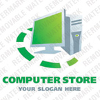 Computers Logo  Template 20961