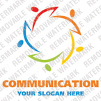 Communications Logo  Template 20970