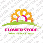 Flowers Logo  Template 20980