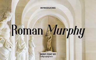 Roman Murphy Serif Luxurious Font