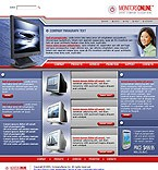 denver style site graphic designs monitor display online shop store accessories flash animated electronics