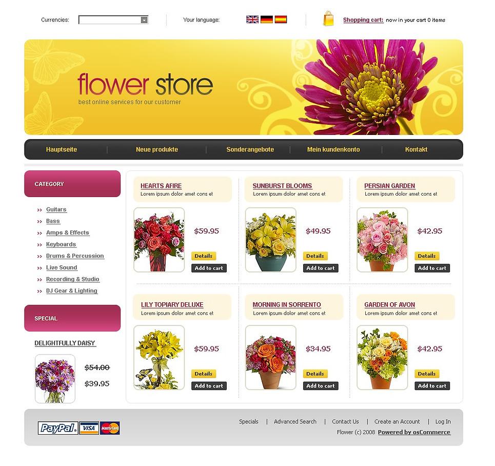 Интернет магазин цветы партнерка
