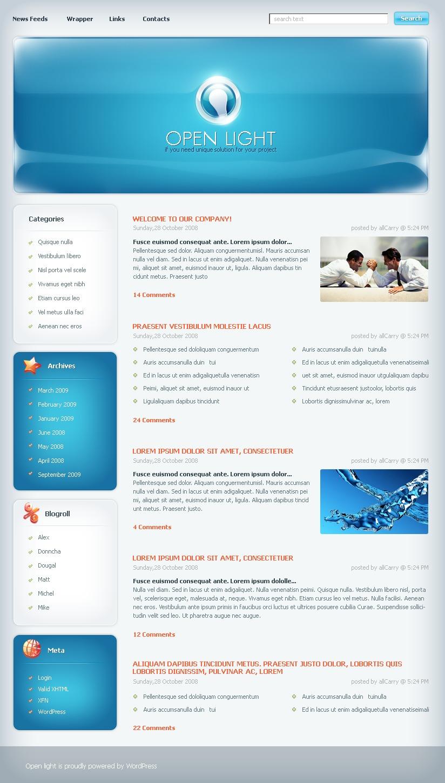 Business & Services WordPress Theme