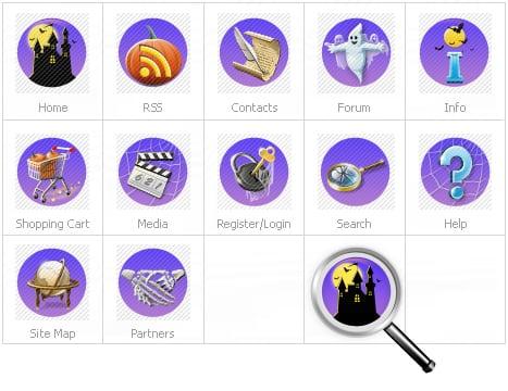 Icon Set Template 21540 Screenshots