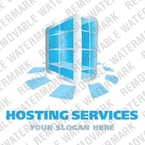 Web Hosting Logo  Template 21565